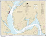 Buy map Potomac River Lower Cedar Point to Mattawoman Creek (12288-21) by NOAA