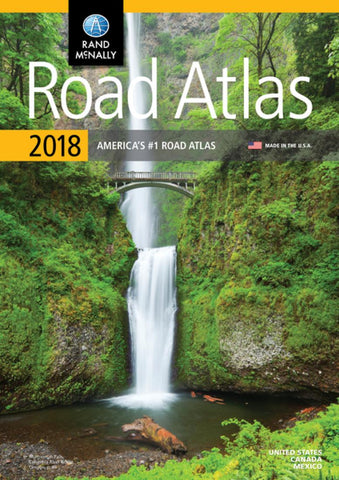 Buy map United States, 2018 Road Atlas by Rand McNally