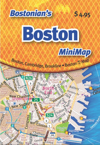 Buy map Bostonians Boston Mini-Map by Opus Publishing
