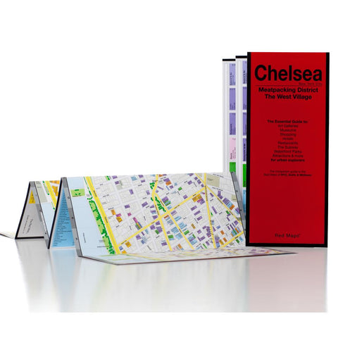 Buy map Chelsea, Meatpacking District and The West Village, New York City by Red Maps