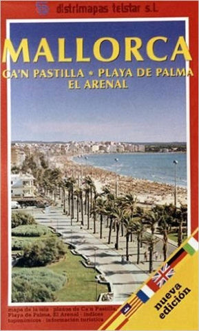 Buy map Majorca, Can Pastilla, Spain by Distrimapas Telstar, S.L.