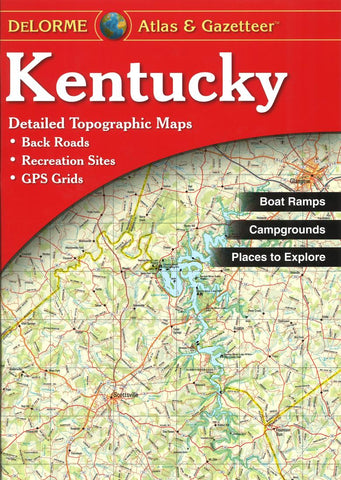 Buy map Kentucky, Atlas and Gazetteer by DeLorme