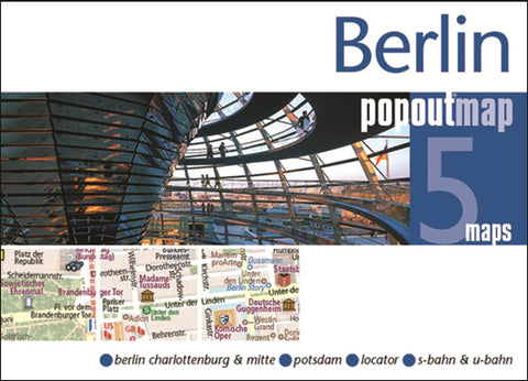 Buy map Berlin, Germany PopOut Map by PopOut Products, Compass Maps Ltd.