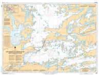 Buy map Fort Frances to/a Hostess Island and/et Sandpoint Island by Canadian Hydrographic Service