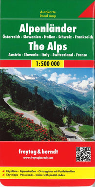 Buy map Alpine Countries by Freytag-Berndt und Artaria