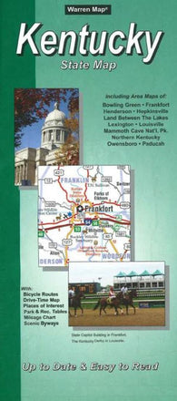 Buy map Kentucky, State Map by Five Star Maps, Inc.