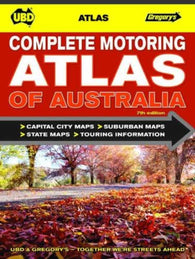 Buy map Australia, Complete Motoring Atlas of by Universal Publishers Pty Ltd