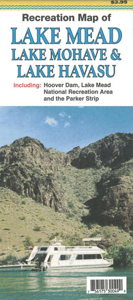 Buy map Recreation Map of Lakes Mead, Mojave and Havasu, Arizona by North Star Mapping