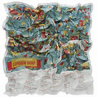 Buy map London, United Kingdom Junior Crumpled City Map by Palomar S.r.l.