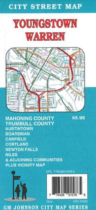 Buy map Youngstown, Ohio, Vicinity by GM Johnson