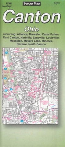 Buy map Canton, Ohio by The Seeger Map Company Inc.