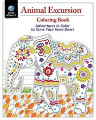 Buy map Animal Excursions Coloring Book by Rand McNally