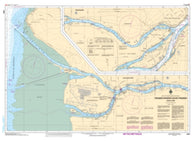 Buy map Fraser River/Fleuve Fraser, North Arm by Canadian Hydrographic Service