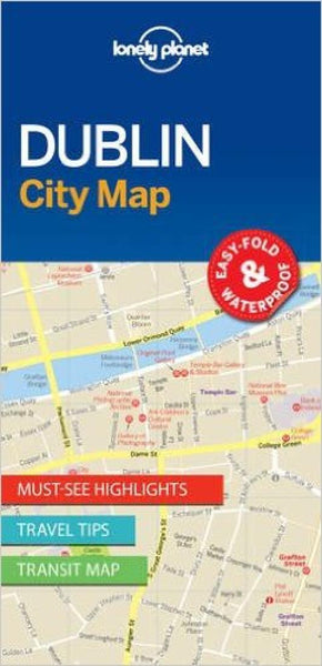 Buy map Dublin, Ireland City Map by Lonely Planet Publications