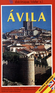 Buy map Avila, Spain by Distrimapas Telstar, S.L.