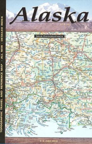 Buy map Alaska, Topographic and Reference Map by Imus Geographics