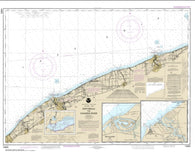 Buy map Ashtabula to Chagrin River; Mentor Harbor; Chagrin River (14825-25) by NOAA