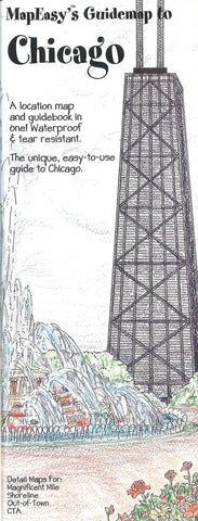 Buy map Chicago, Illinois Mini Guidemap by MapEasy, Inc.