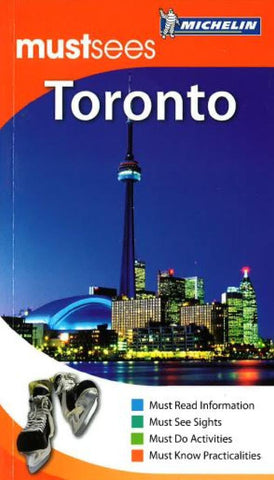 Buy map Toronto, Ontario, Must See Guide by Michelin Maps and Guides
