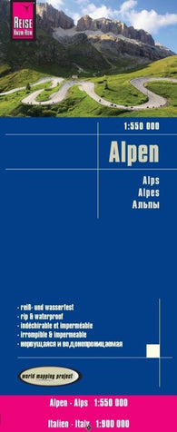 Buy map Alps by Reise Know-How Verlag