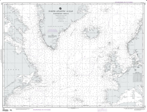 Buy map North Atlantic Ocean - Southeastern Sheet (NGA-121-5) by National Geospatial-Intelligence Agency