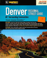 Buy map Denver, Colorado, Regional Atlas by Kappa Map Group