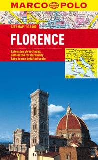 Buy map Florence, Italy by Marco Polo Travel Publishing Ltd