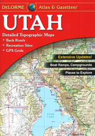 Buy map Utah Atlas and Gazetteer by DeLorme