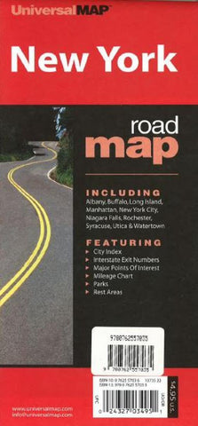 Buy map New York State Road Map by Kappa Map Group