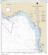Buy map Tampa Bay to Cape San Blas (11400-36) by NOAA