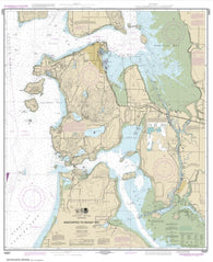 Buy map Anacortes to Skagit Bay (18427-24) by NOAA