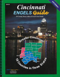 Buy map Cincinnati, Ohio, Atlas by Engels Guide