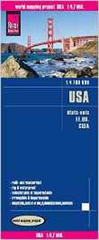 Buy map United States by Reise Know-How Verlag
