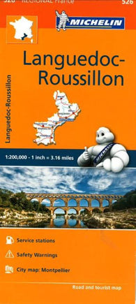 Buy map Languedoc, Roussillon (526) by Michelin Maps and Guides