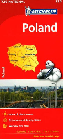 Buy map Poland (720) by Michelin Maps and Guides