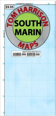Buy map Southern Marin, California Trail Map by Tom Harrison Maps