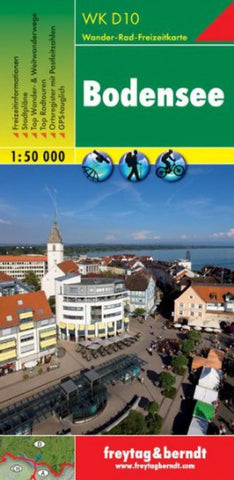 Buy map Bodensee by Freytag-Berndt und Artaria