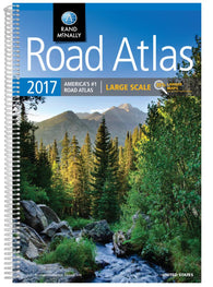 Buy map Large Scale Road Atlas 2017 : United States by Rand McNally