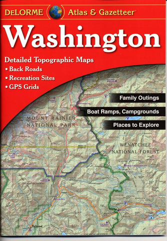Buy map Washington, Atlas and Gazetteer by DeLorme