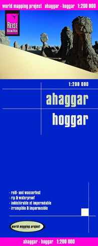 Buy map Hoggar Mountains by Reise Know-How Verlag