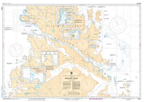 Buy map McLelan Strait by Canadian Hydrographic Service
