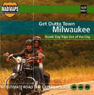 Buy map Milwaukee, Wisconsin, Get Outta Town by MAD Maps
