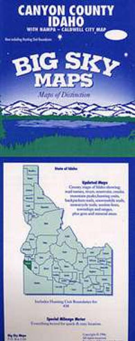 Buy map Canyon County, Idaho by Big Sky Maps