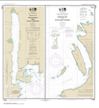 Buy map Woewodski and Eliza Hbrs.; Fanshaw Bay and Cleveland Passage (17365-13) by NOAA