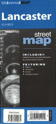 Buy map Lancaster, Ohio by Kappa Map Group
