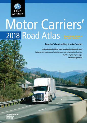 Buy map United States, 2018 Motor Carriers Road Atlas by Rand McNally