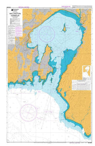 Buy map WELLINGTON HARBOUR (4633) by Land Information New Zealand (LINZ)