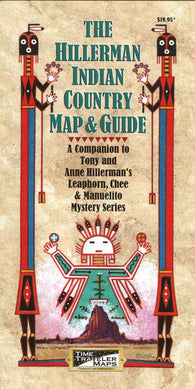 Buy map The Hillerman Indian Country Map and Guide by Time Traveler Maps