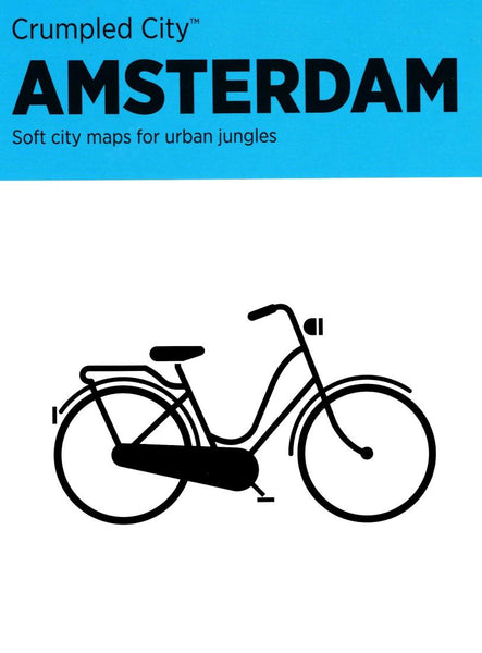 Buy map Amsterdam, Netherlands Crumpled City Map by Palomar S.r.l.