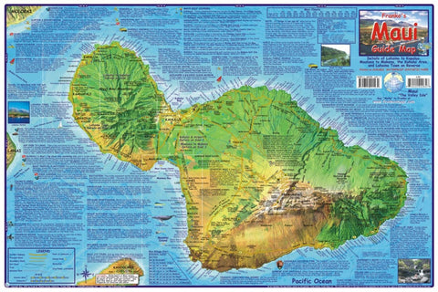 Buy map Maui Guide Map, Laminated by Frankos Maps Ltd.